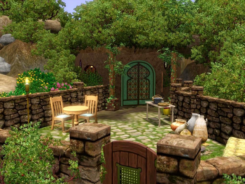 Luckily  there is now a small one bedroom hole available for them to  inhabit  meaning they no longer have to live with their fellow hobbits. Mod The Sims   Snug little Hobbit Hole