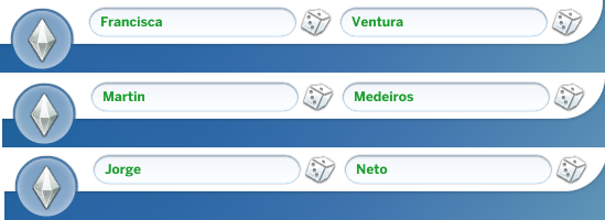 Mod The Sims - More Portuguese Names