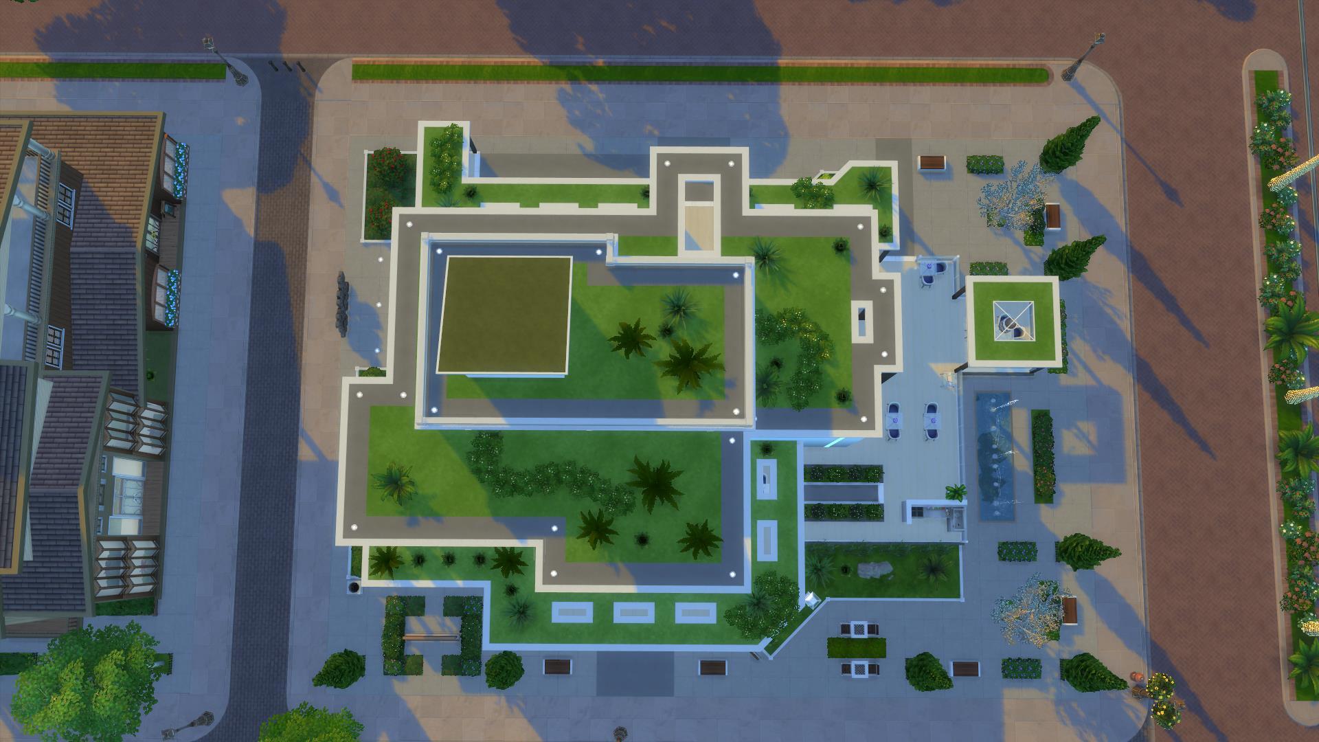 Mod the sims arcadia greens no cc restaurant