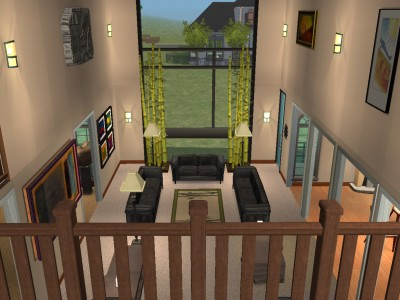 Mod The Sims Two Story Contemporary Home