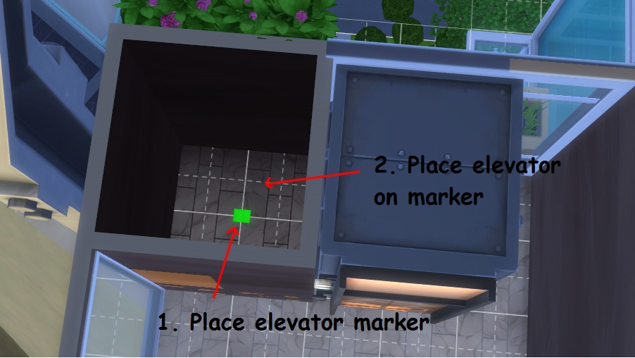 Mod The Sims - Teleporter and Elevators for community and