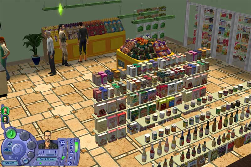 Mod The Sims - Health food store