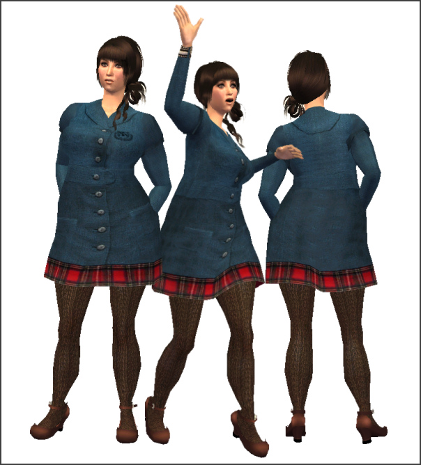 Plus size sims 2 clothes dress