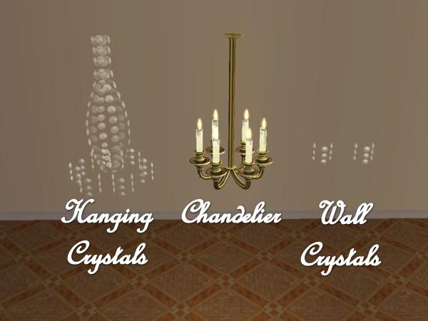 Mod The Sims French Chandelier