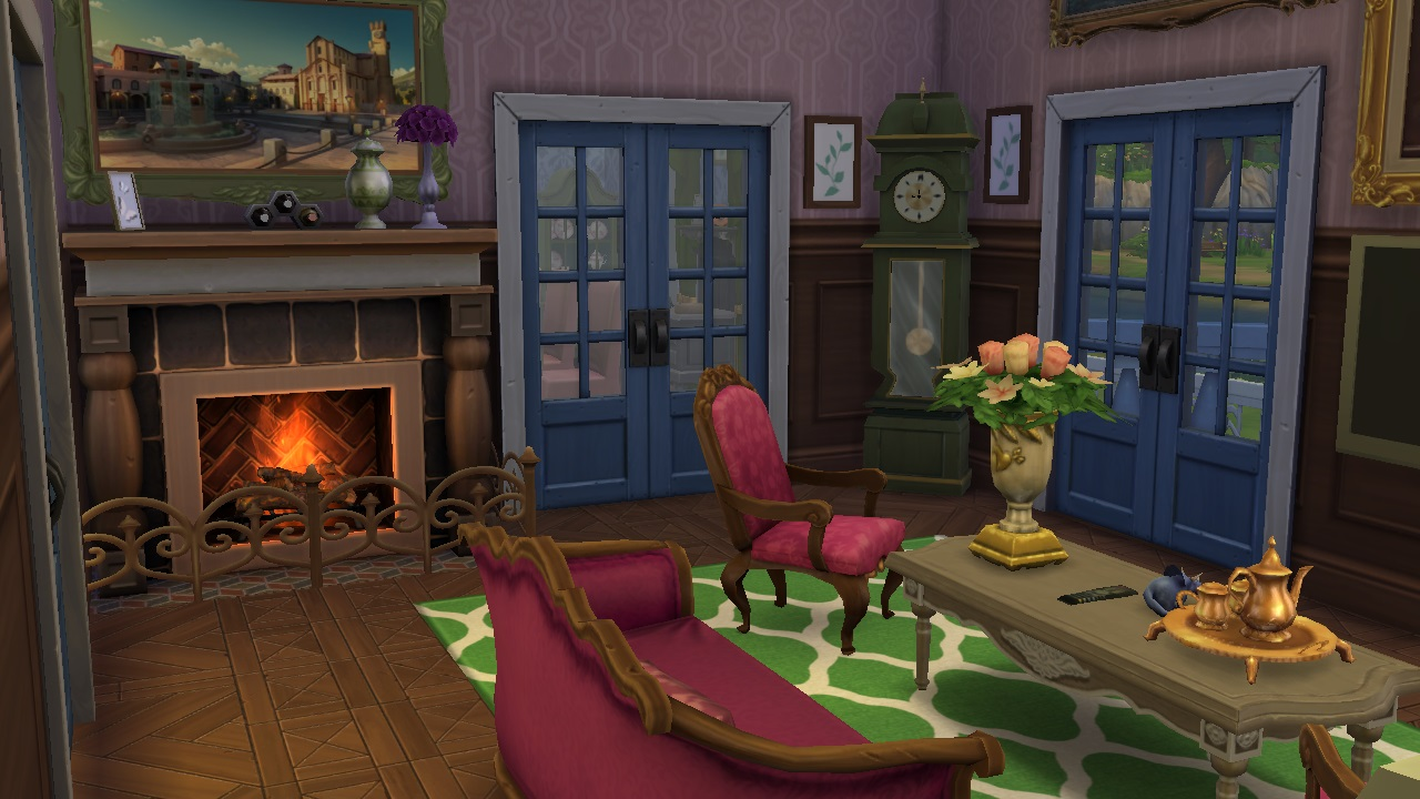 mod the sims victorian house