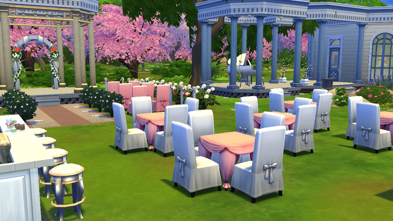 Mod The Sims Magnolia Park Rebuild For Weddings