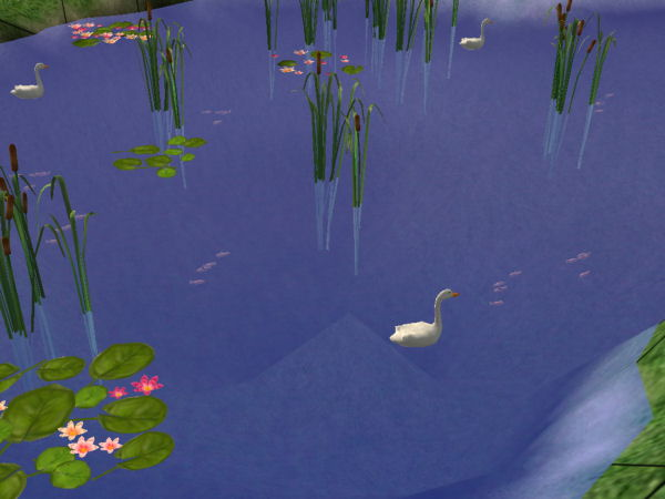 Mod the sims fish for pond or lake for Sims 4 fishing