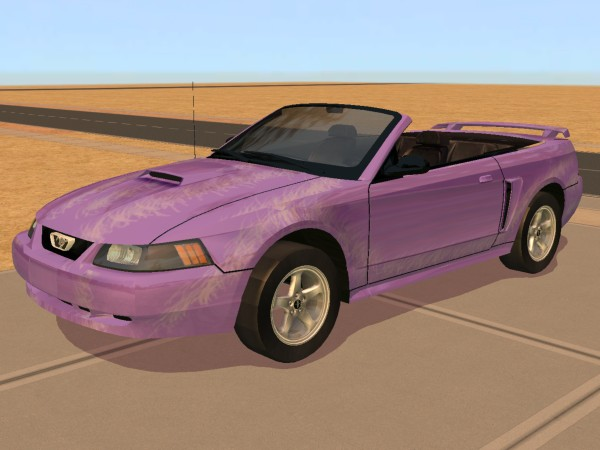 mod the sims 2003 ford mustang gt convertible. Black Bedroom Furniture Sets. Home Design Ideas