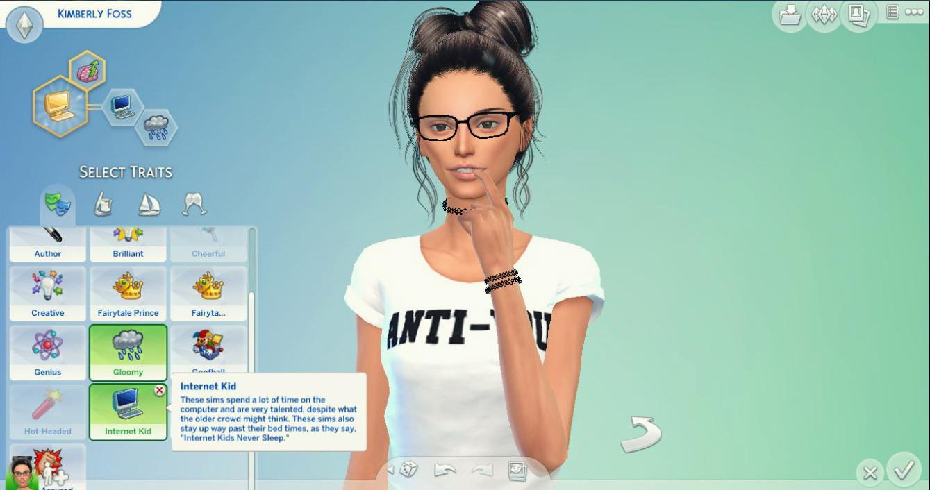 Mod the sims cas trait internet kid for Mods sims 4 muebles