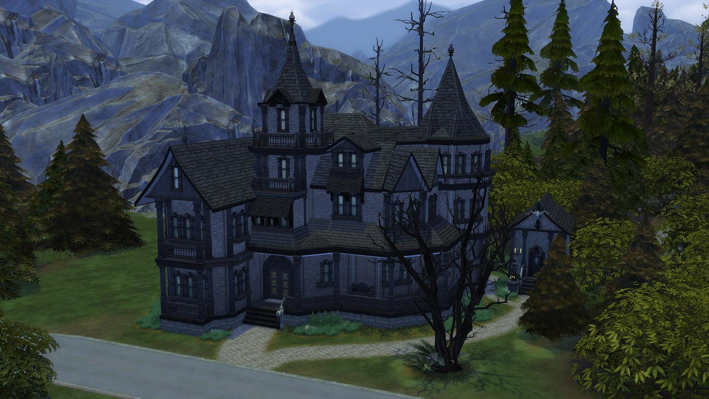 villa for sims 3