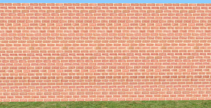 Mod The Sims Set Of 6 Red Brick Walls