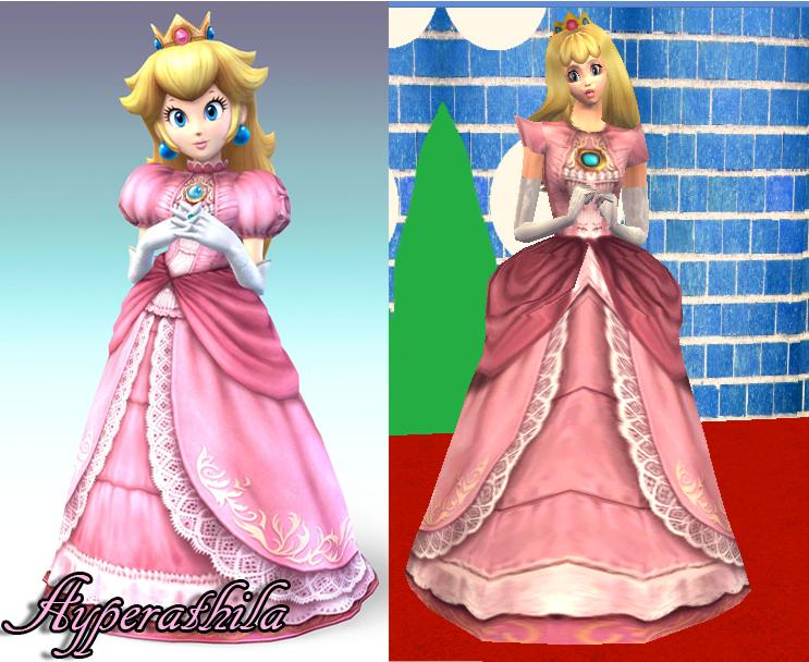 Peach dress up games online