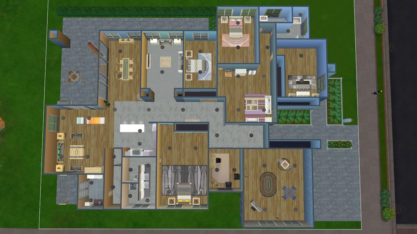 Mod The Sims - Eco House 2 (no CC) - An