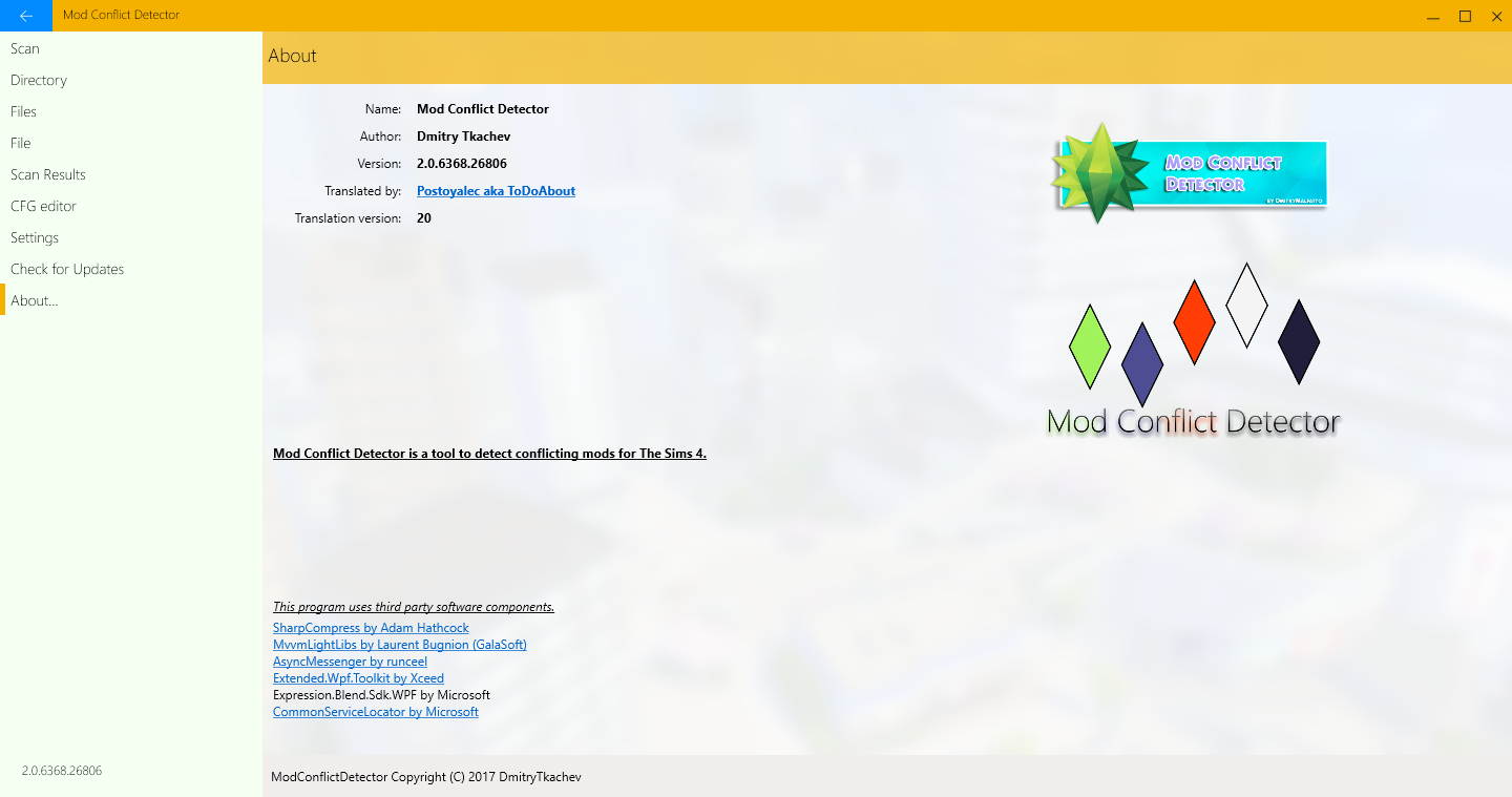 Mod The Sims - Mod Conflict Detector [Update 03/03/2018]