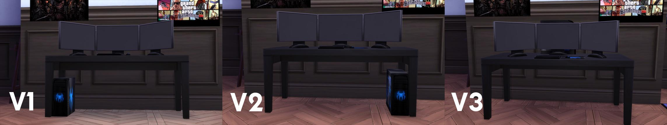 Mod The Sims Spiderweb Hardcore Gaming Set Added More Swatches 1 Komputer X