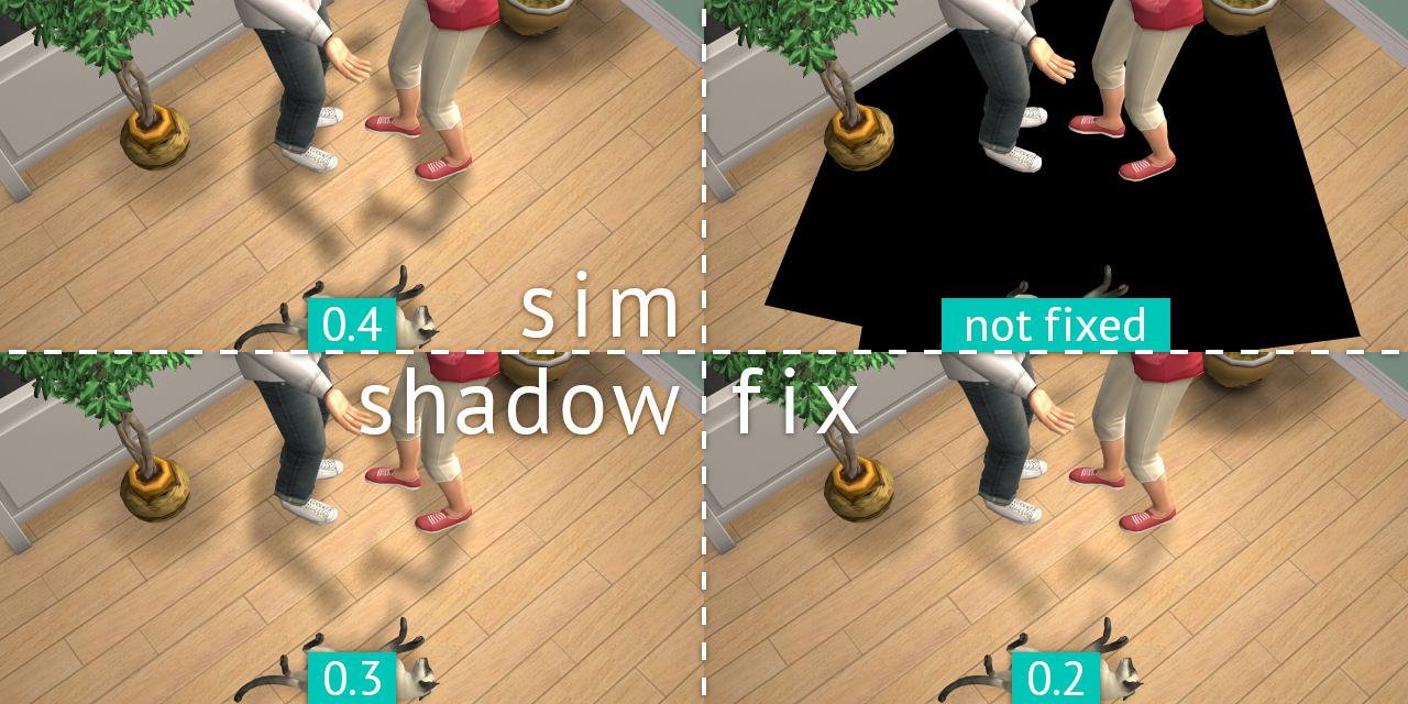 Mod The Sims - Sim Shadow Fix (updated 2 JAN 16)