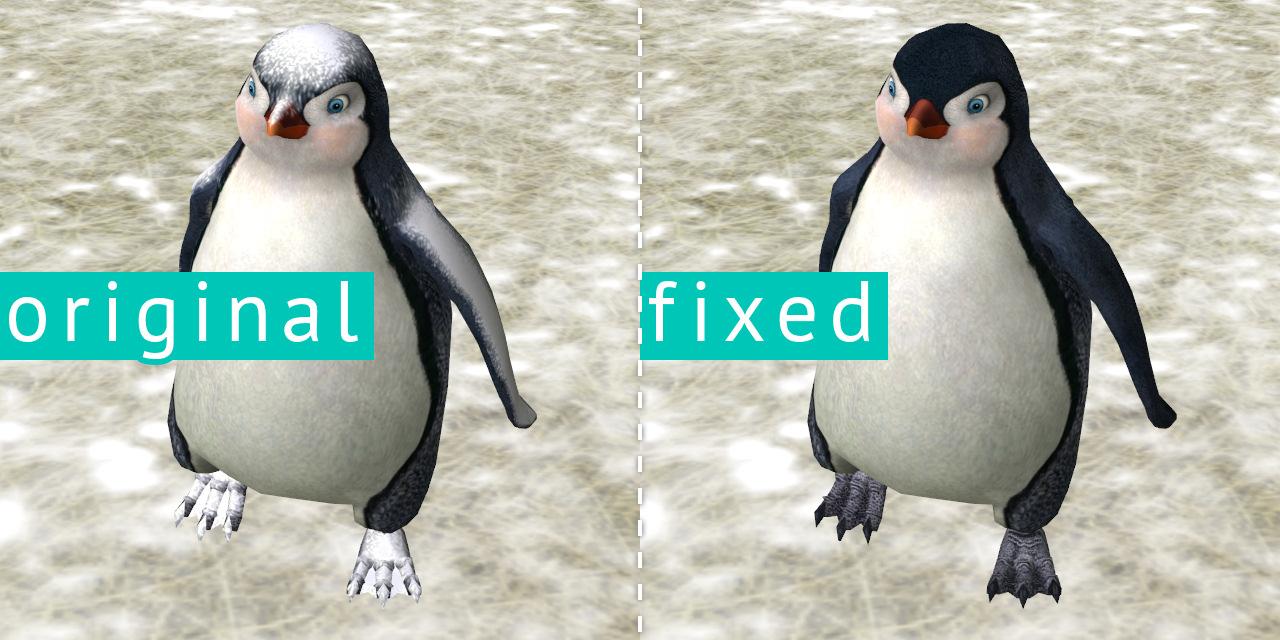 Mod The Sims - Snowy Penguin Fix