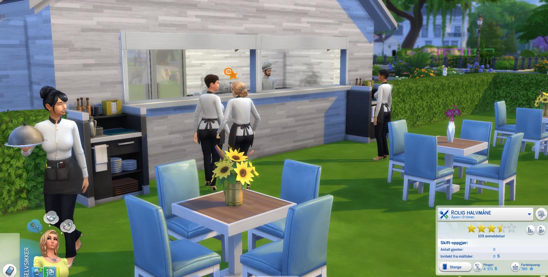 mod the sims chef u0026 waiter perk