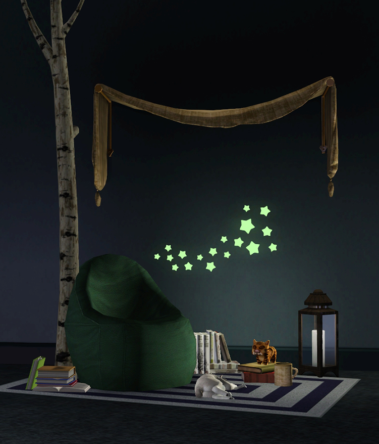This Glow In The Dark Wall Decal Is Perfect For Enhancing An Intimate  Reading Nook Or Providing A Gentle Bedside Glow. Looks Great Night Or Day.