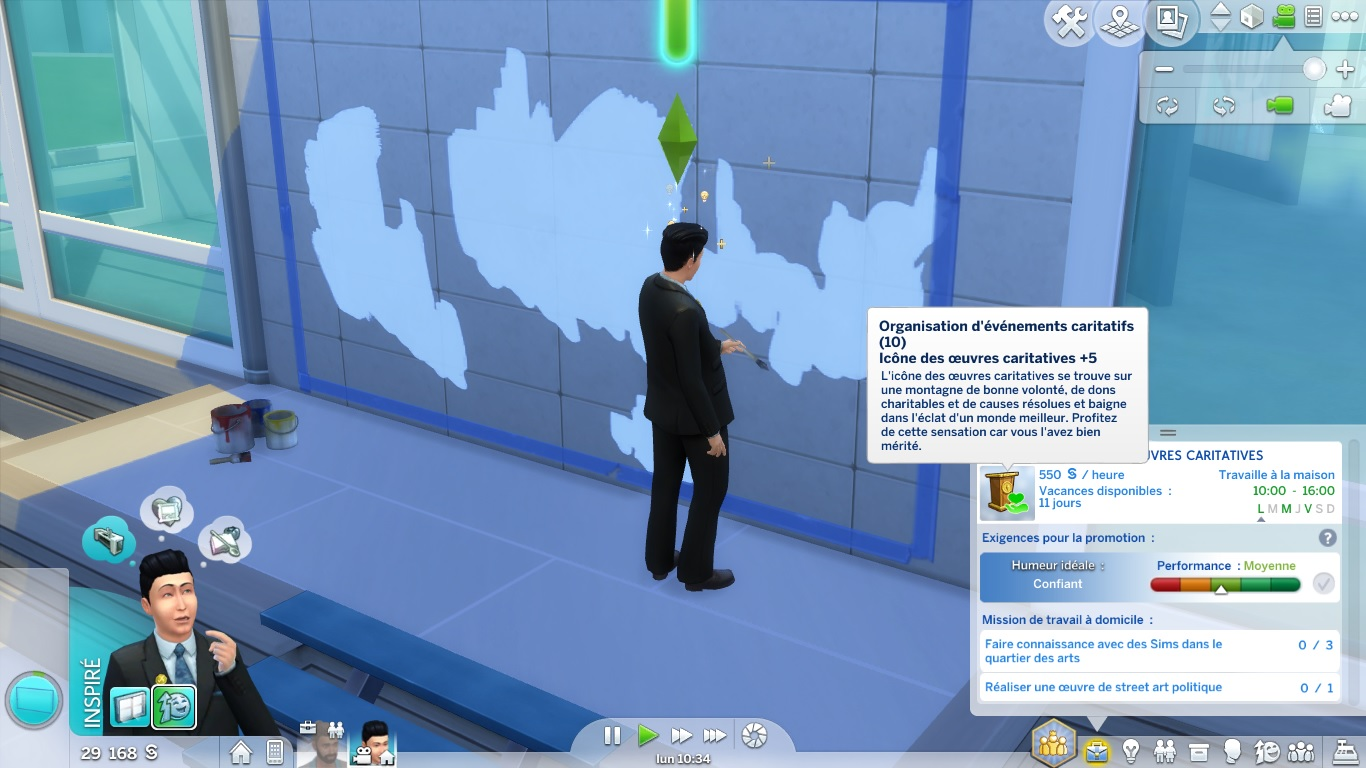 mod the sims promotions after level for city living careers advertisement