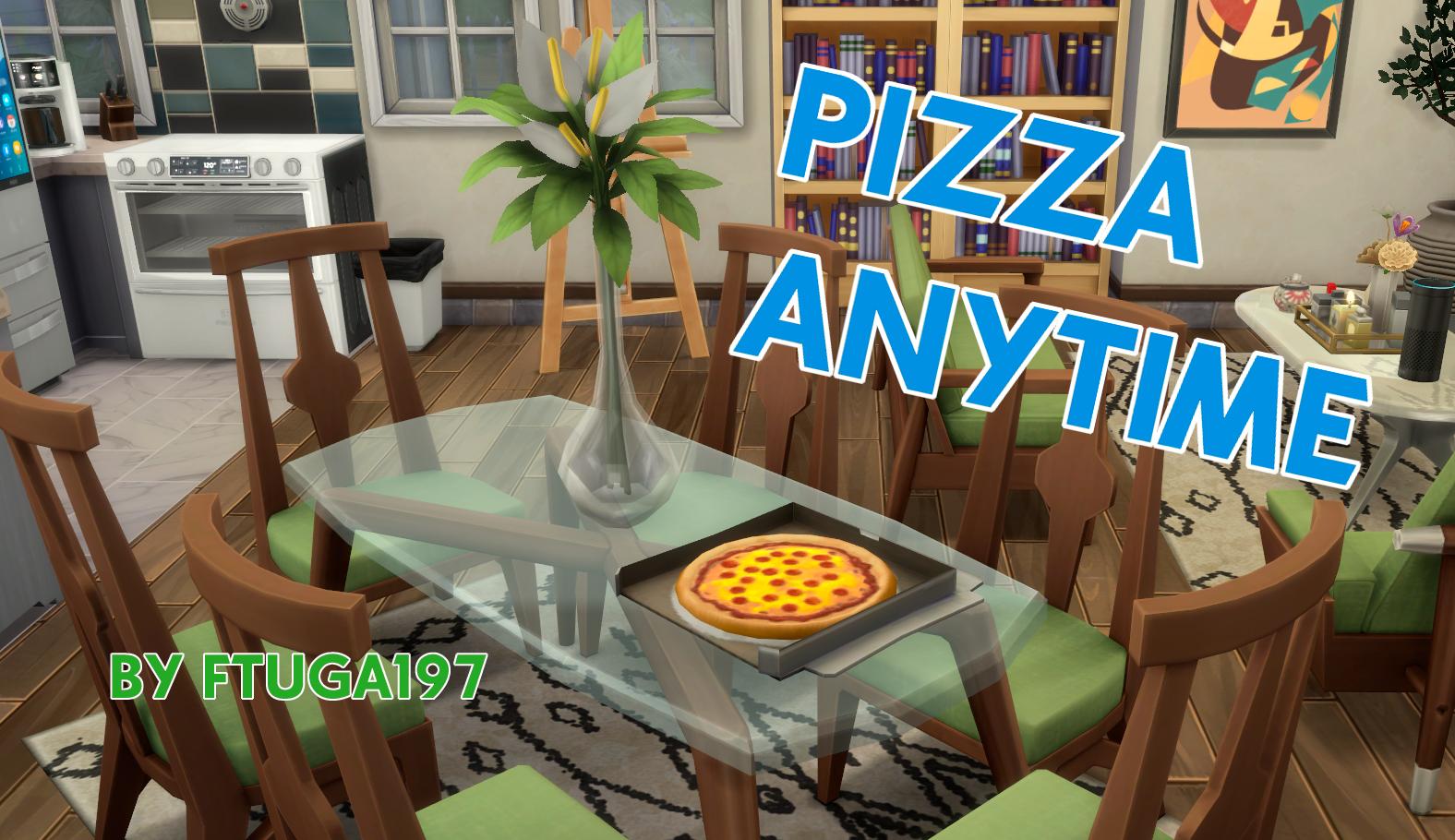 Мод Пицца в любое время