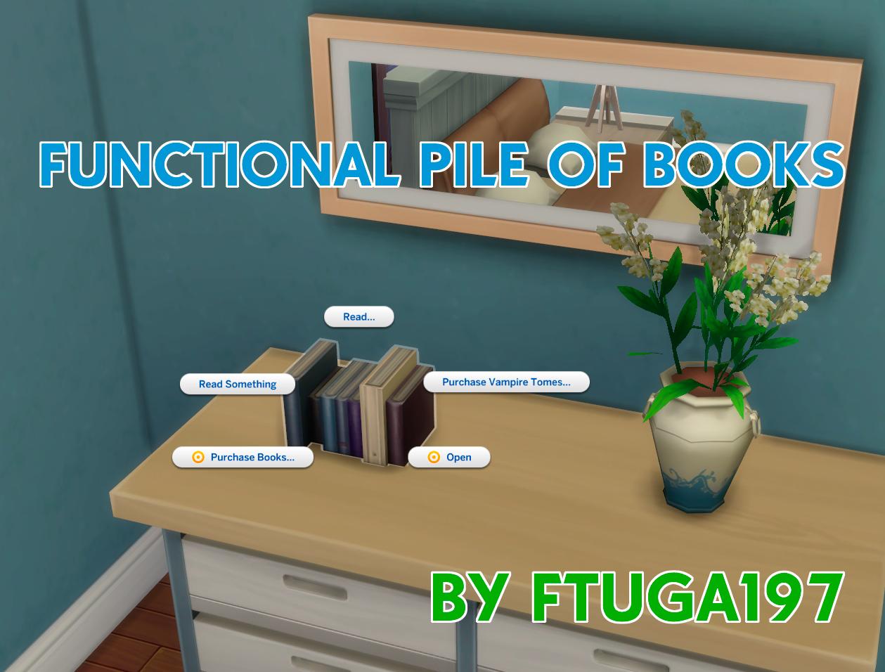 Мод Функциональная куча книг