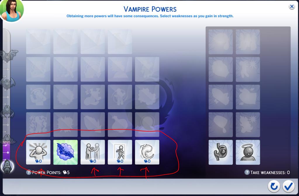 Mod The Sims Free Vampire Perks