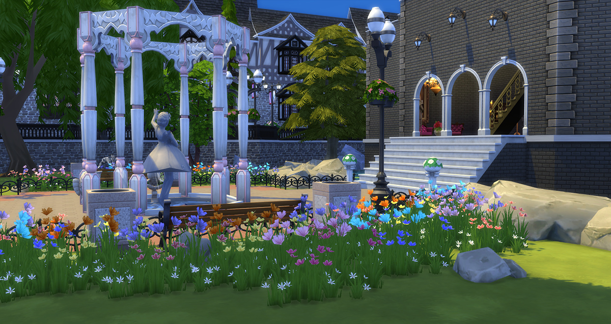 Image Result For How To Start A Garden On Sims
