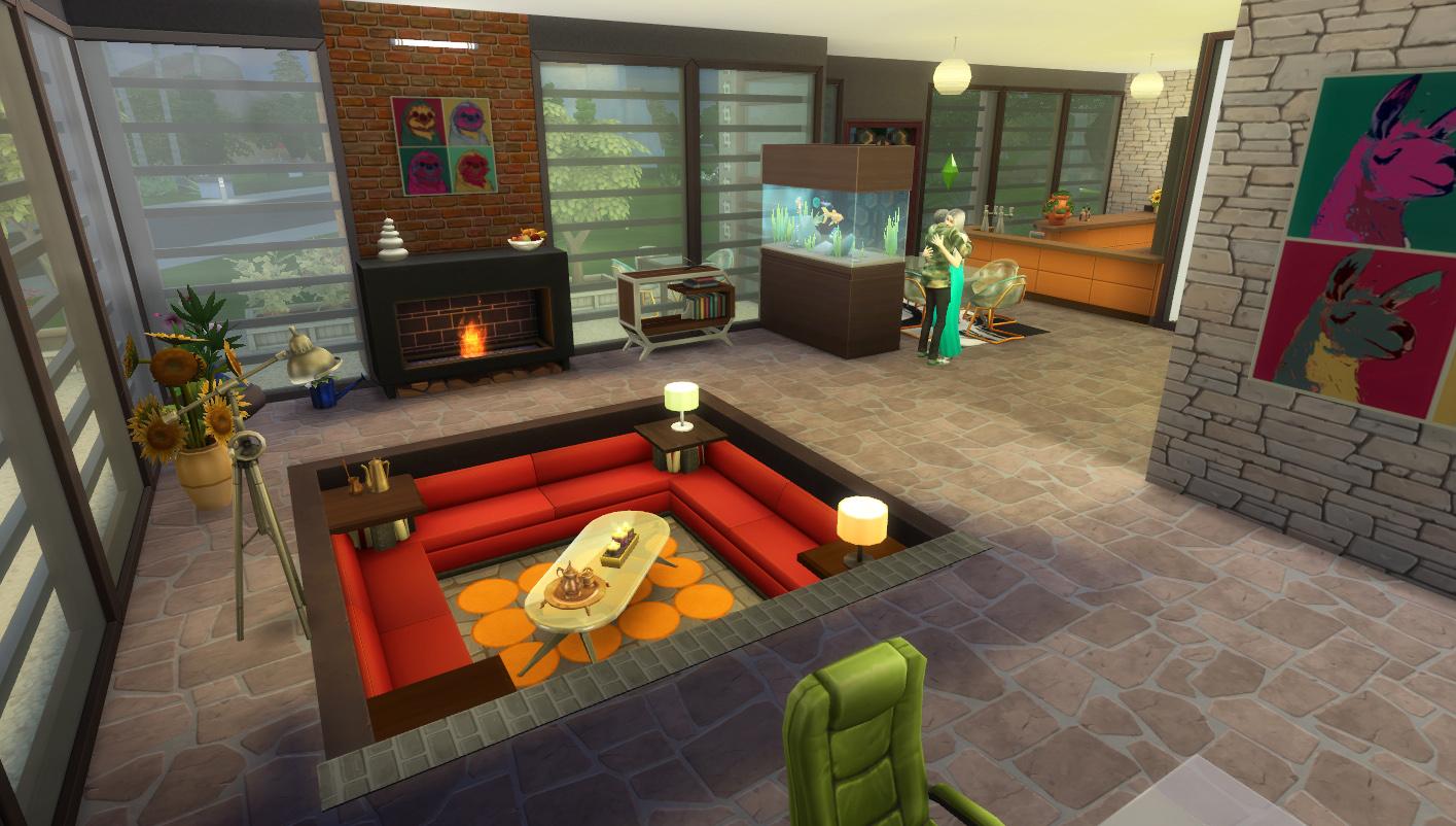 Mod The Sims - The Conversation Pit/ No CC - photo#2