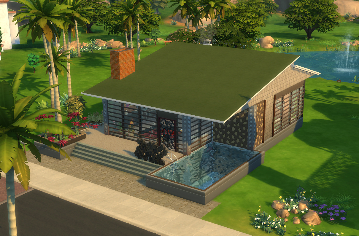 Mod The Sims - The Conversation Pit/ No CC - photo#21