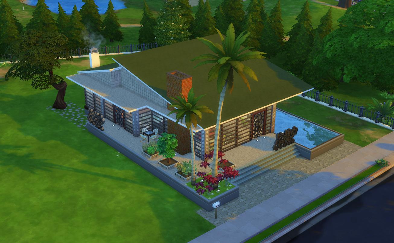 Mod The Sims - The Conversation Pit/ No CC - photo#22