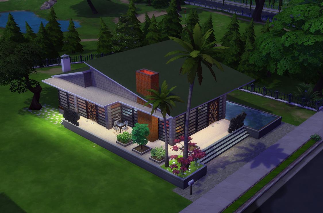 Mod The Sims - The Conversation Pit/ No CC - photo#39