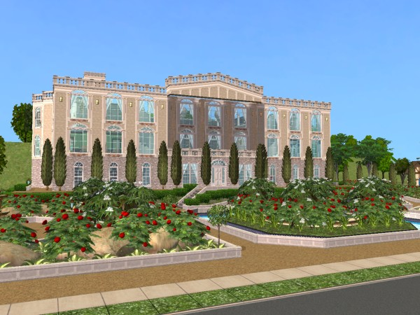 Mod The Sims Million Dollar Mansion One Of A Kind