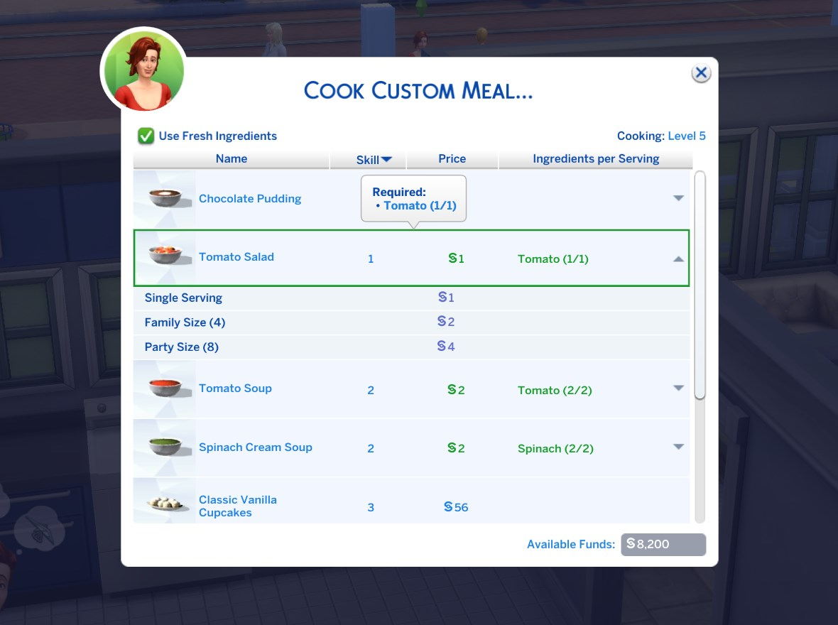 Mod The Sims - Custom Food Interactions (Update 5th