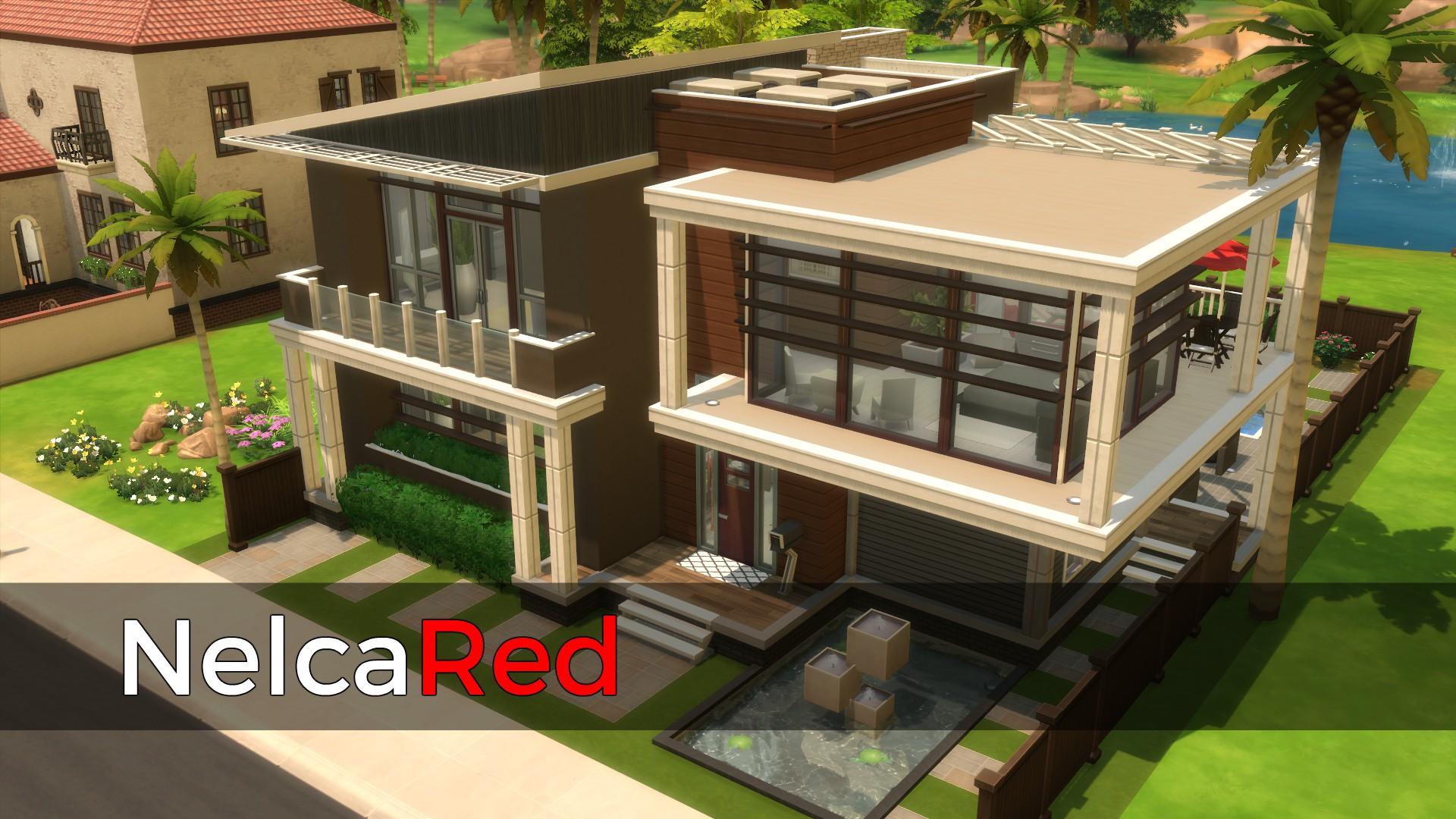 Mod The Sims Modern Basegame Mansion