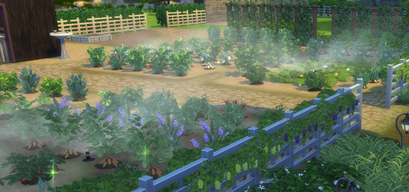 Mod The Sims - Set It and Forget It Functional Garden Sprinkler