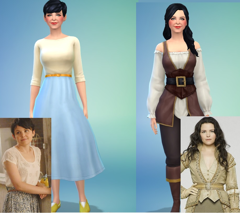 Mod The Sims Mary Margaret Once Upon A Time Andrewf