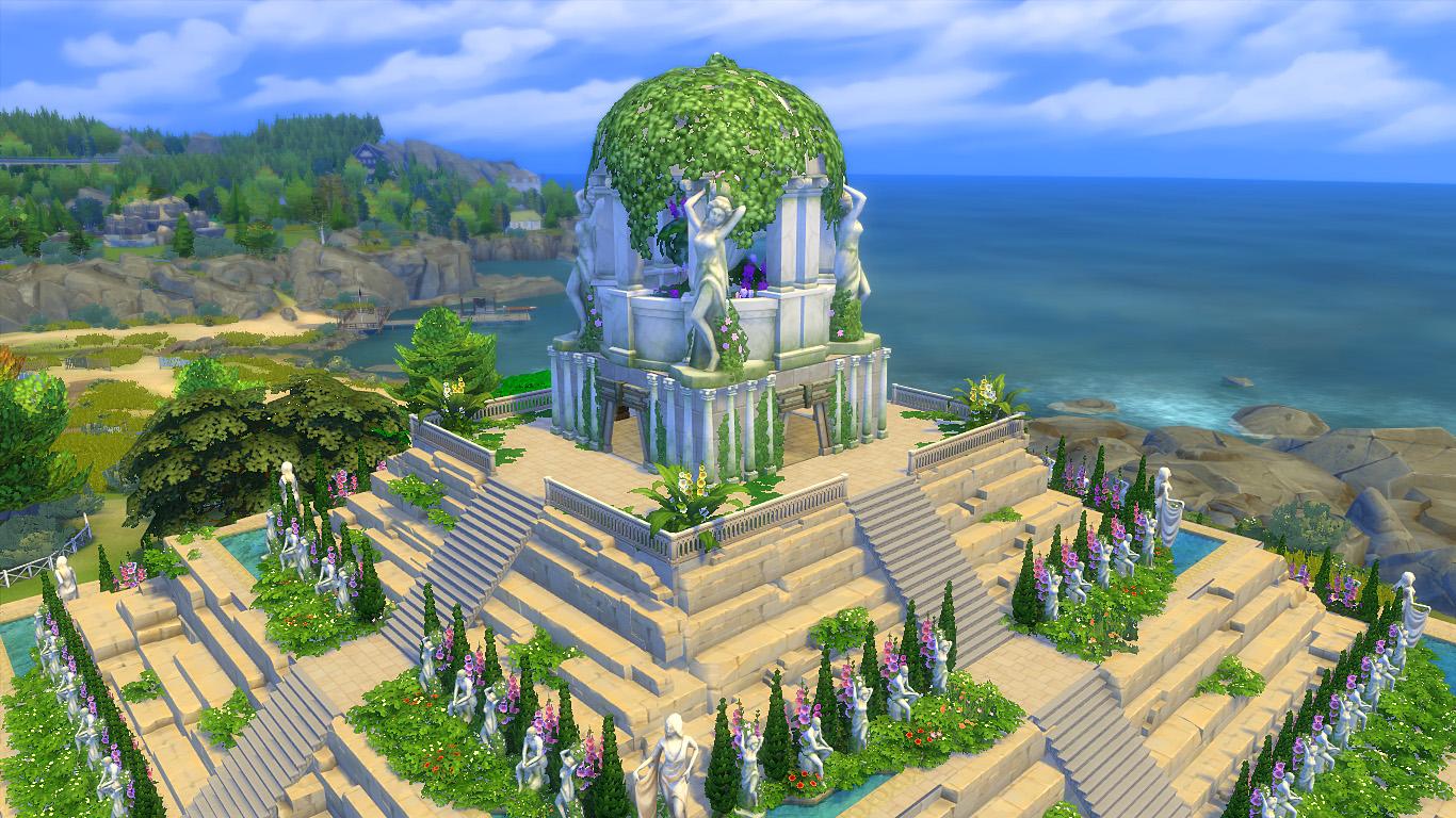 Храм Горы Олимп