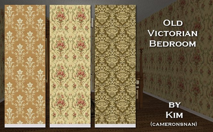I made these for a victorian house I\u0027m building so I thought I would share them with you. Hope someone finds them useful & Mod The Sims - Victorian Bedroom Walls
