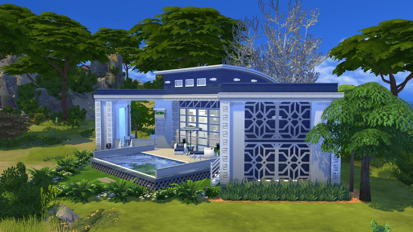 mod the sims seaside micro home