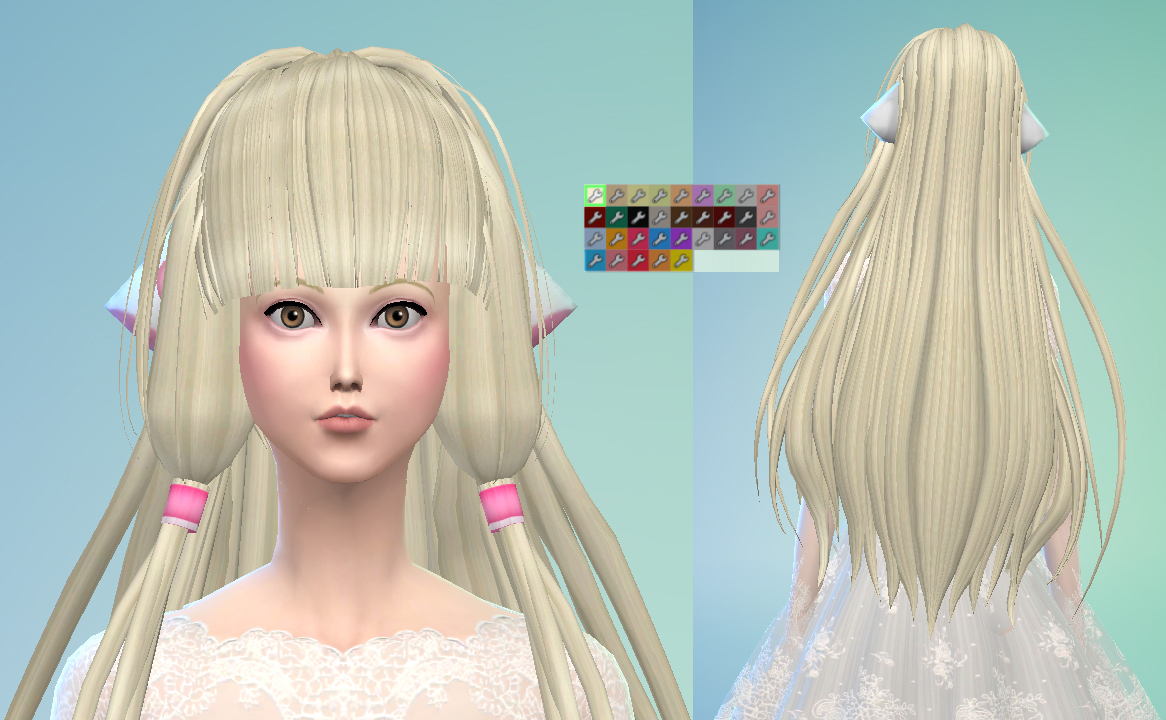 Mod The Sims - Chii from Chobits Hair - Maxis Match