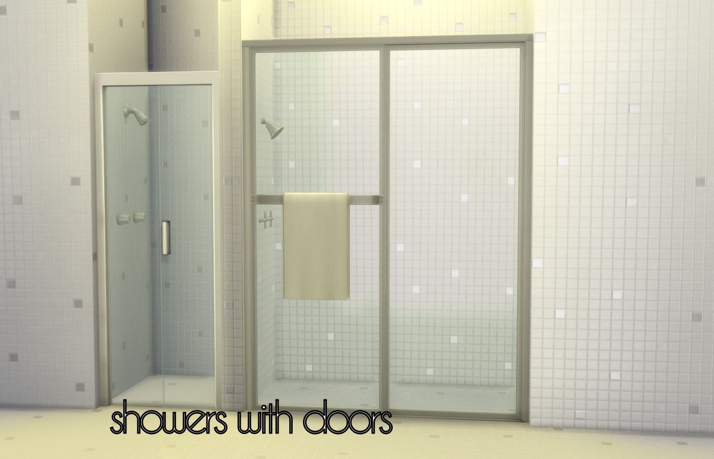 Mod The Sims Build A Shower Kit