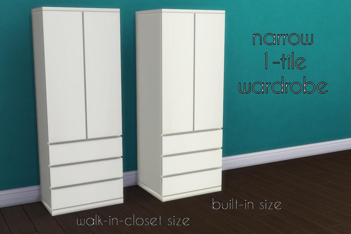 Dresser In Closet Walk In