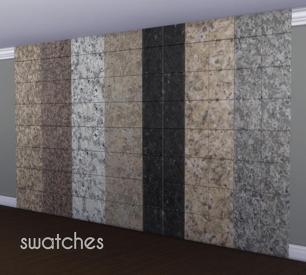 Glossy Granite Wall Tiles