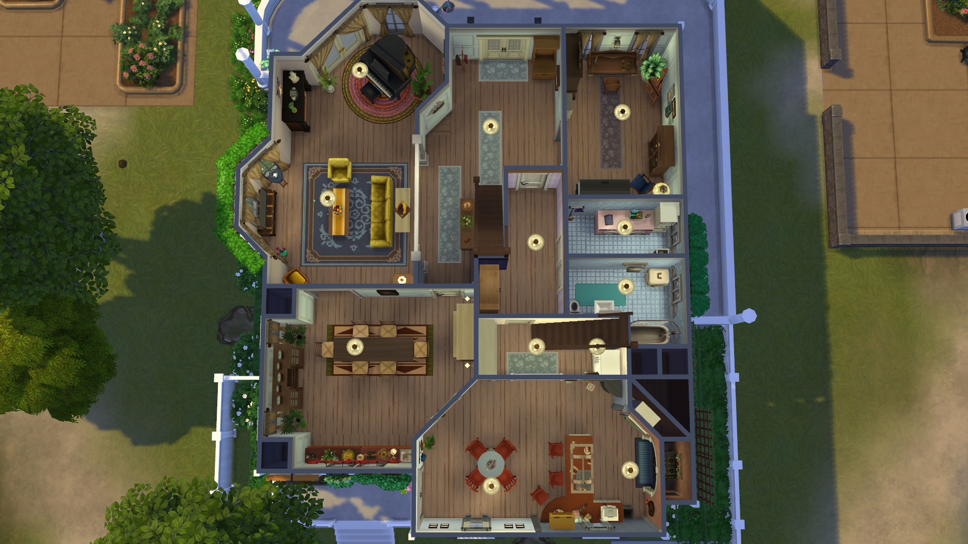 Mod The Sims The House From The Tv Show Sabrina The Teenage Witch