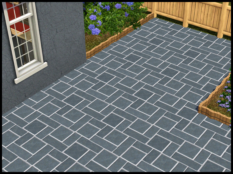 Mod The Sims - Stone Tile Paving Pattern