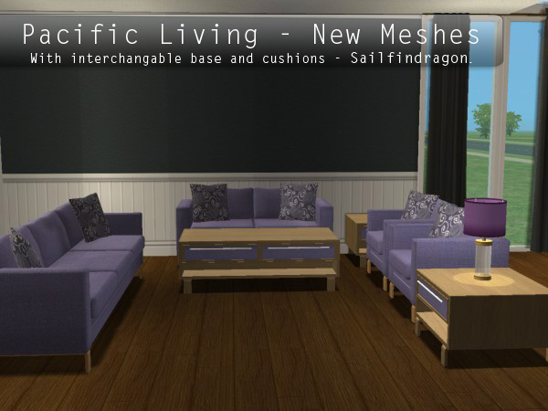 Pacific Living : Mod The Sims - Pacific Living Collection