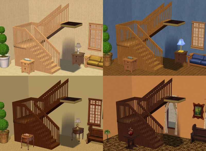 How To Build Stairs Sims