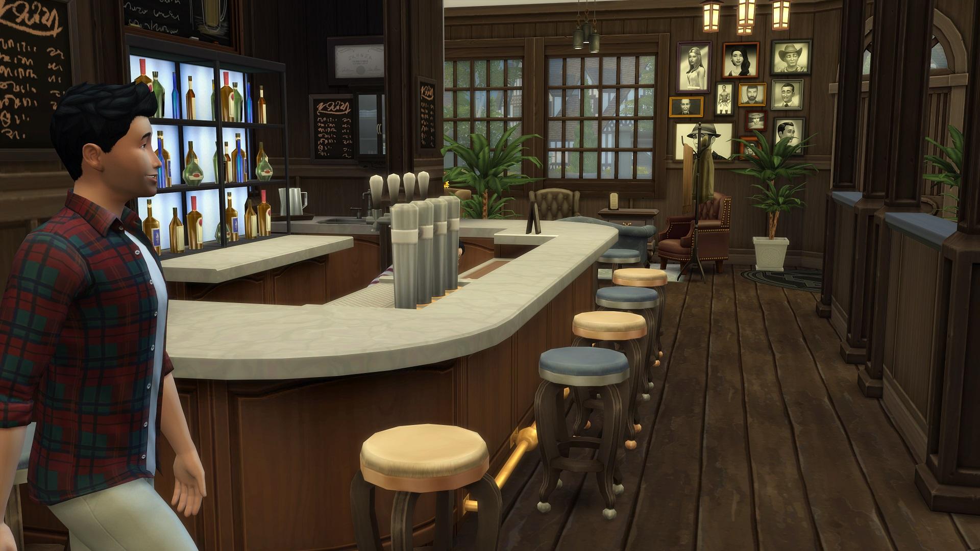 English Pub Interior Design. Bar Pub Restaurant And Club Interior ...