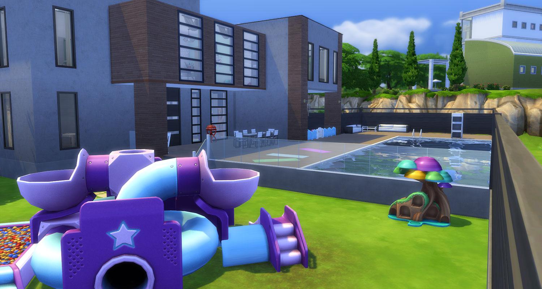 Mod The Sims - Spacious Modern Home - 4Bed/4Bath
